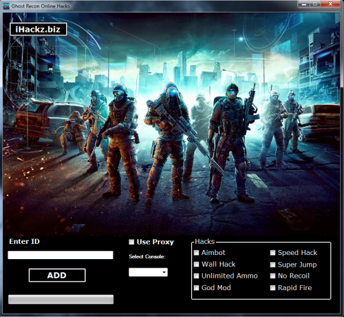 Ghost Recon Online Hack