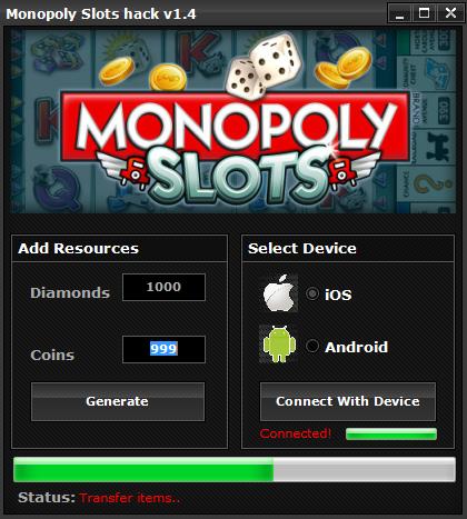 Monopoly Slots Hack
