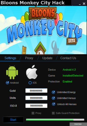 Bloons Monkey City Hack Tool