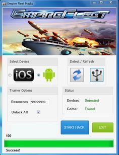 Empire Fleet Hack Tool