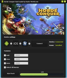 Horde Conquer Hack