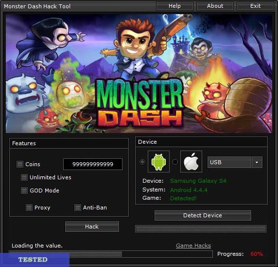Monster Dash Hack 2