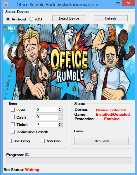 Office Rumble Hack Cheat