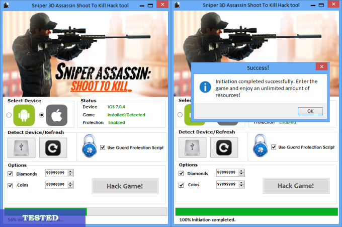 Sniper 3D Assassin Shoot To Kill Hack