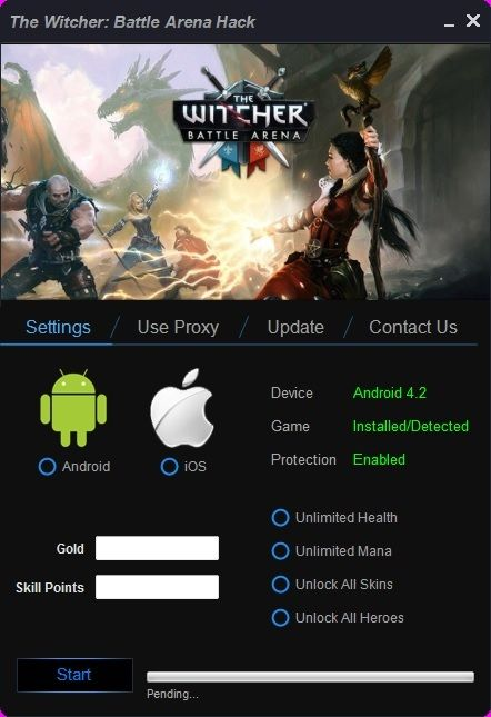 The Witcher Battle Arena Hack Tool
