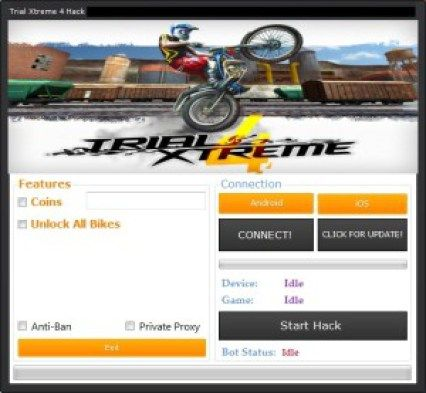 Trial Xtreme 4 Hack Tool