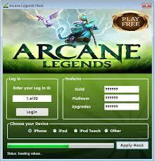 Arcane Legends Cheats tool