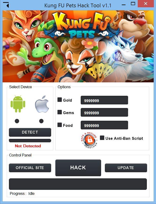 Kung Fu Pets Hack v1.2