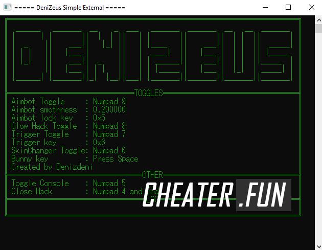 Counter-Strike: Global Offensive DeniZeus External (ESP/AIMBOT/TRIGGER/ETC.)
