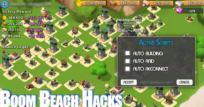 Boom Beach Hack – Unlimited Free Diamonds Generator