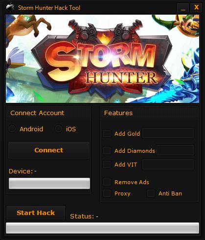 Storm Hunter Hack Cheats Tool