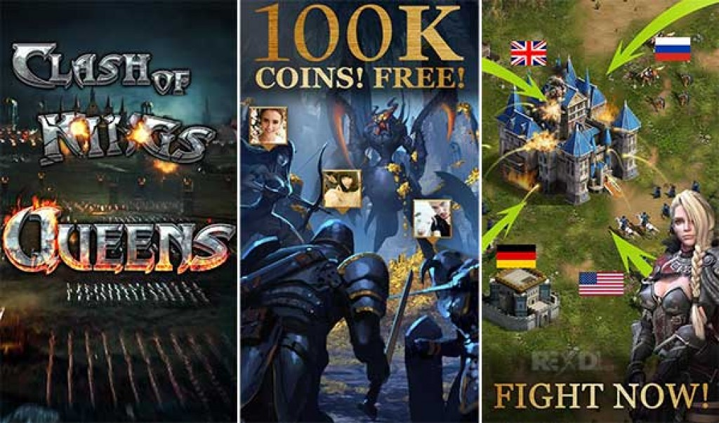 Clash of Queens Dragons Rise Hack (MOD,Unlocked) Apk