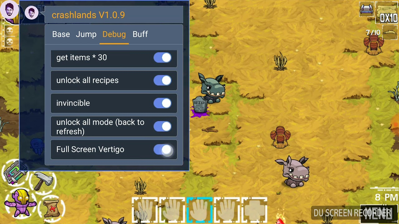 Crashlands Full Hack (MOD, resources) Apk
