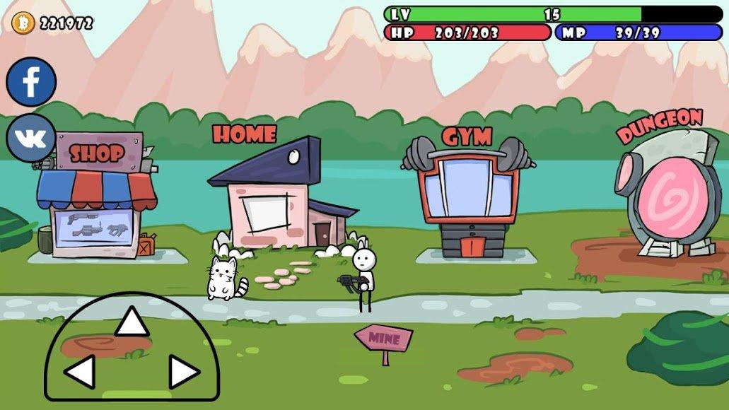 One Gun: Stickman Mod Apk (Unlimited Money)