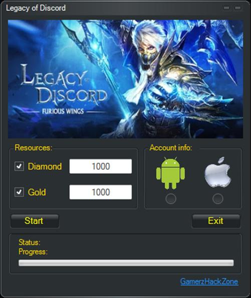 Imagini pentru Legacy of Discord Hack