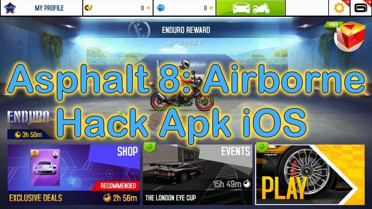 Asphalt 8 hacked apk download