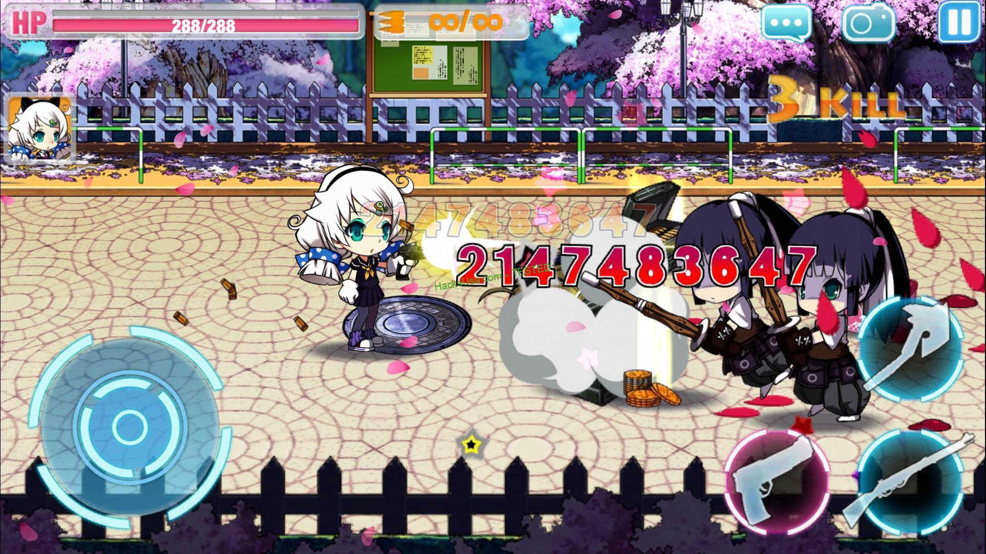 MOD Guns Girl Infinite Ammo – Honkai Gakuen God Mode – VER. 5.4.22