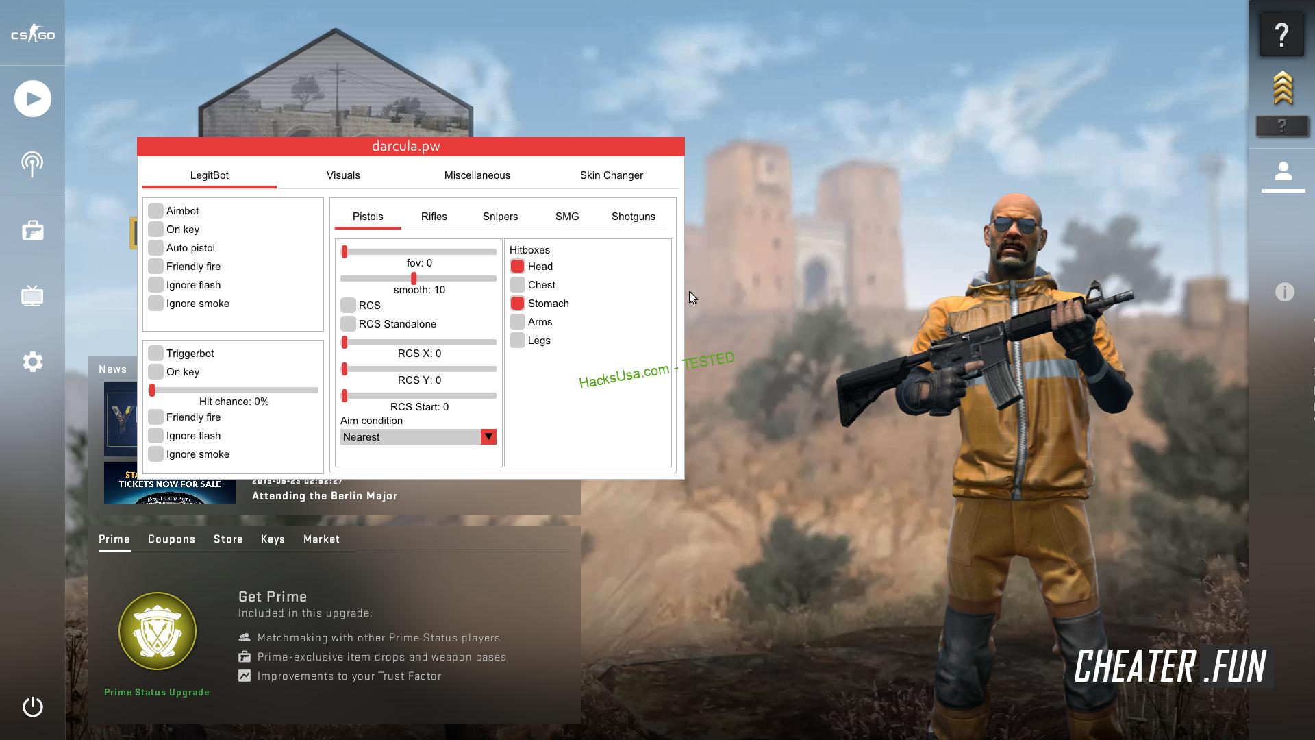Counter-Strike: GO darcula.pw - legit cheat for CSGO (crack)