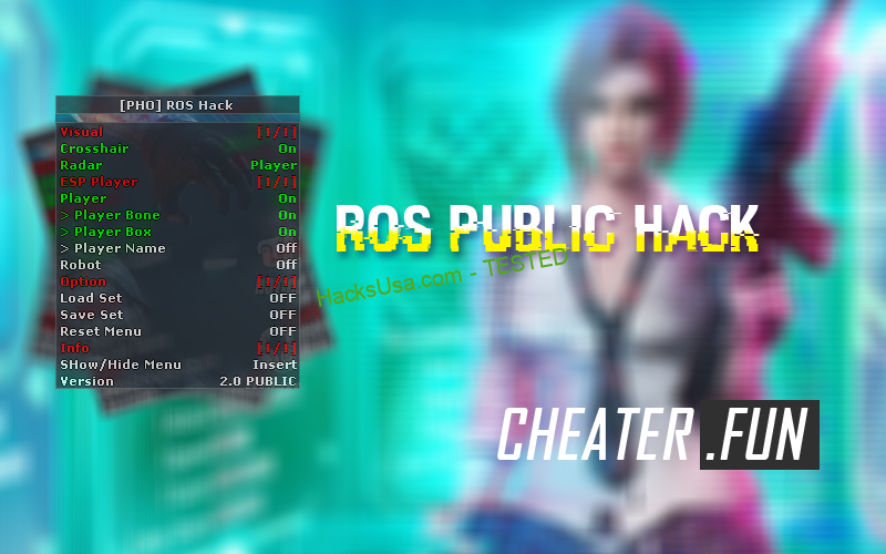 ROS Rules of Survival Public Hack [PHO]