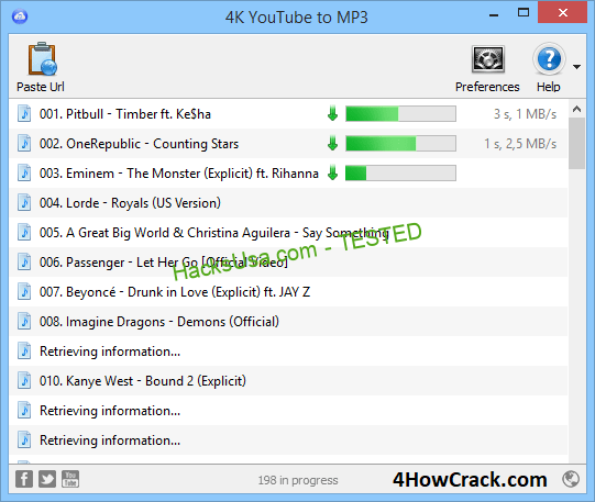 4K YouTube to MP3 Serial Key