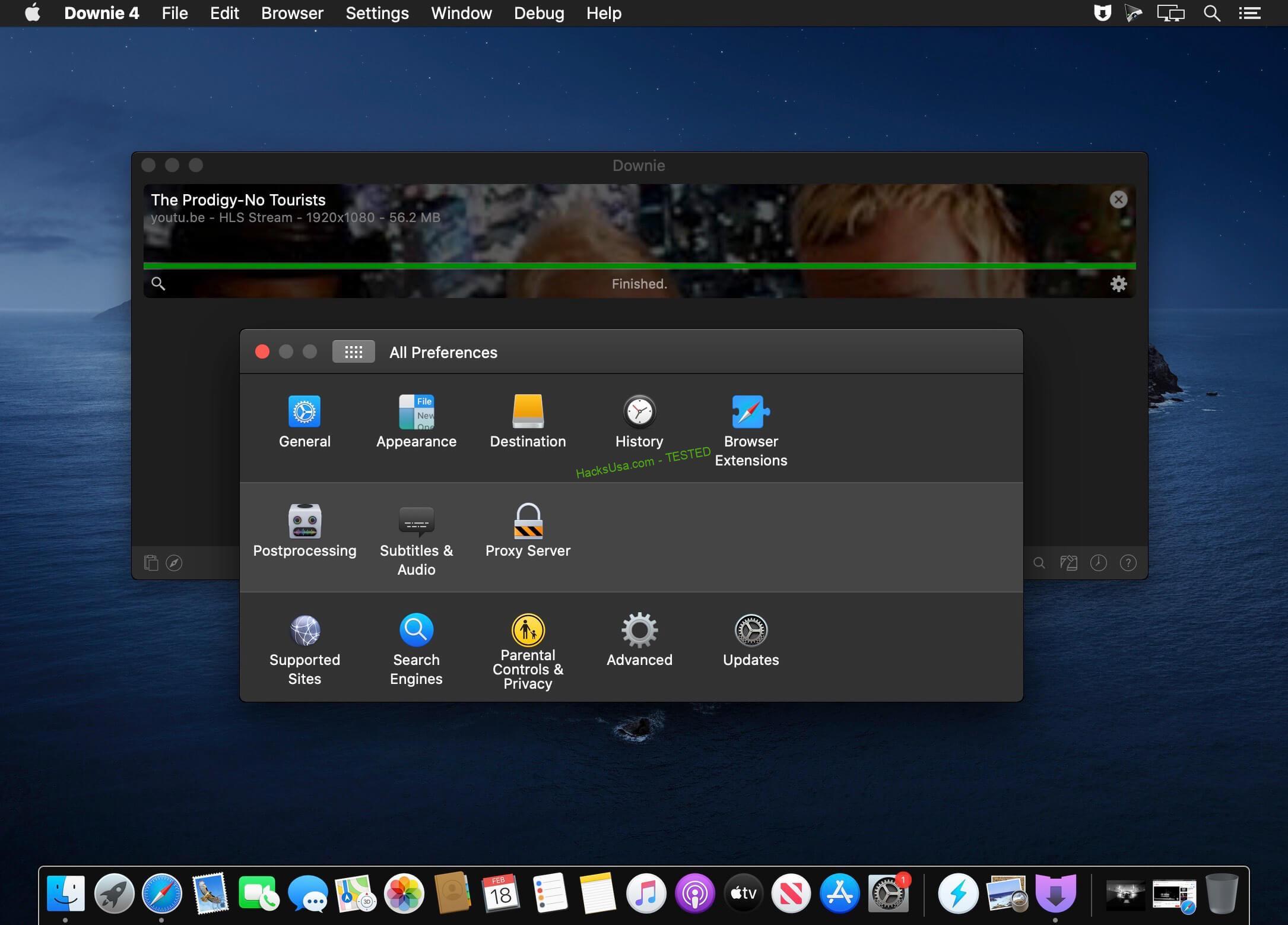 Downie 4.0.2 MAC2
