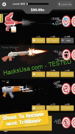 Gun Idle : Money Mod : Download APK