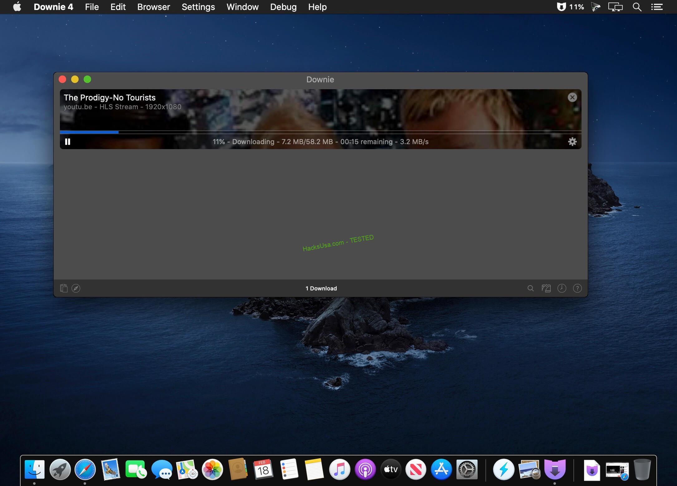 Downie 4.0.2 MAC