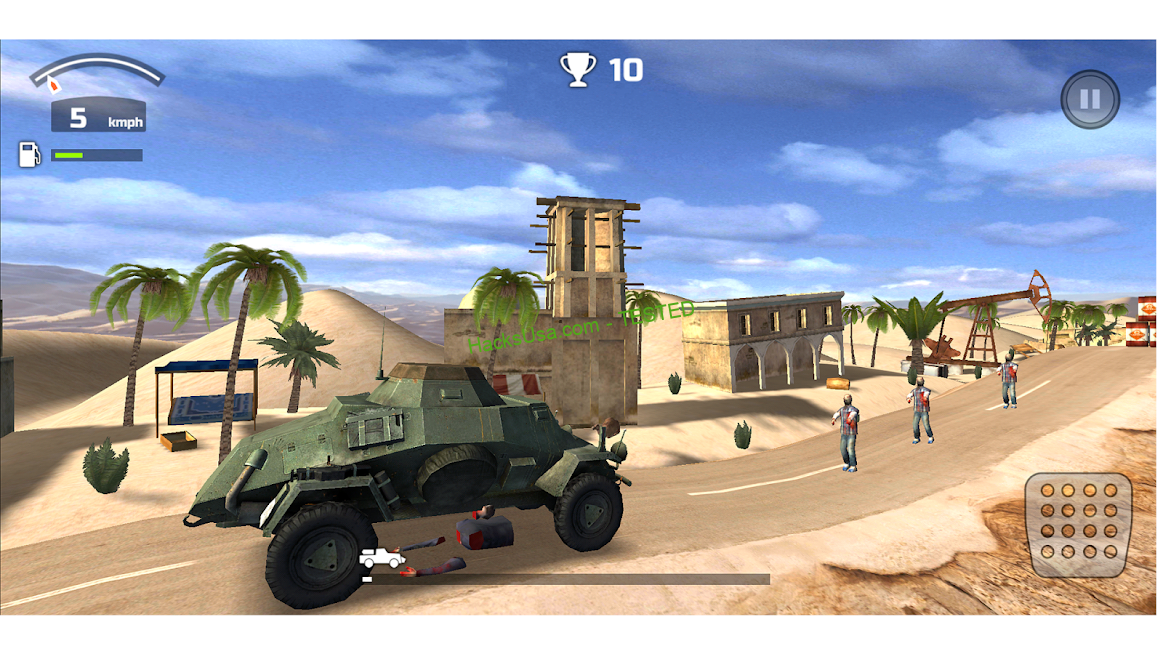 Zombie World – Racing Game : VIP Mod money and bullets APK
