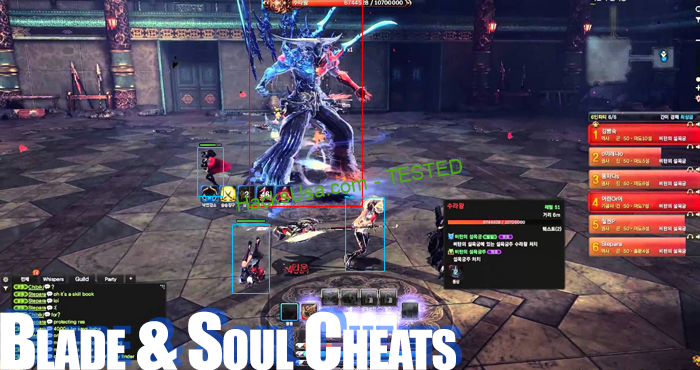 blade and soul cheats