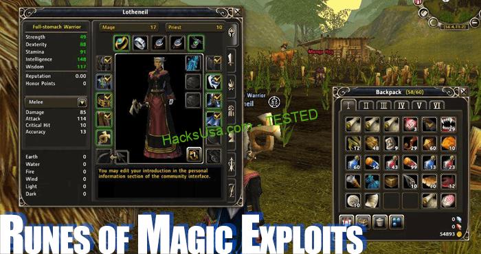 runes-of-magic-exploits