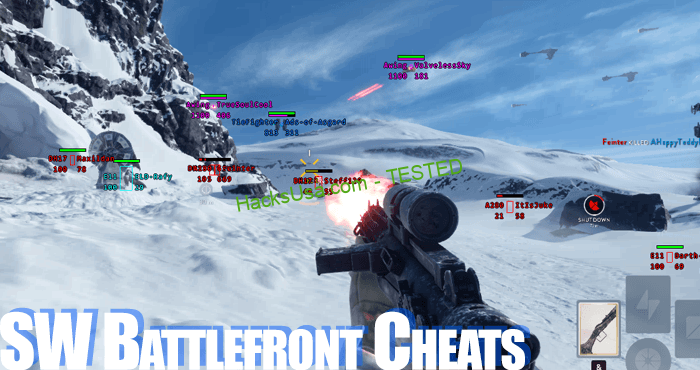 sw battlefront cheating