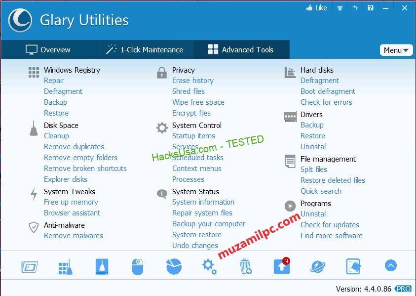 Glary Utilities Pro 5.139.0.167 Crack Full Keygen 2019 [Latest]