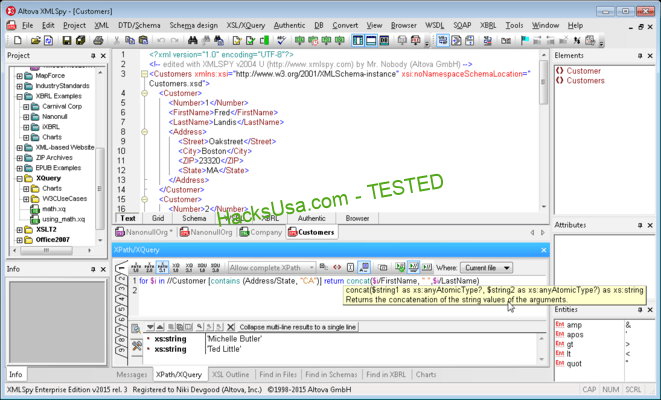 Altova XMLSpy Enterprise Keygen