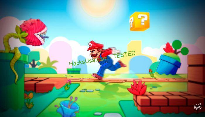 Super Mario Run graphics
