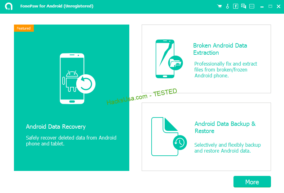 FonePaw Android Data Recovery Crack Free 212