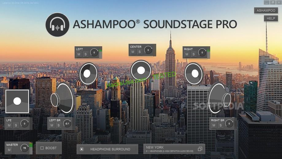 Ashampoo Soundstage Pro Crack Free v1.0 Ashampoo Soundstage Pro Crack Free Obtain encompass sound is one thing to behold. Nevertheless, is your laptop computer system associated to a encompass system?