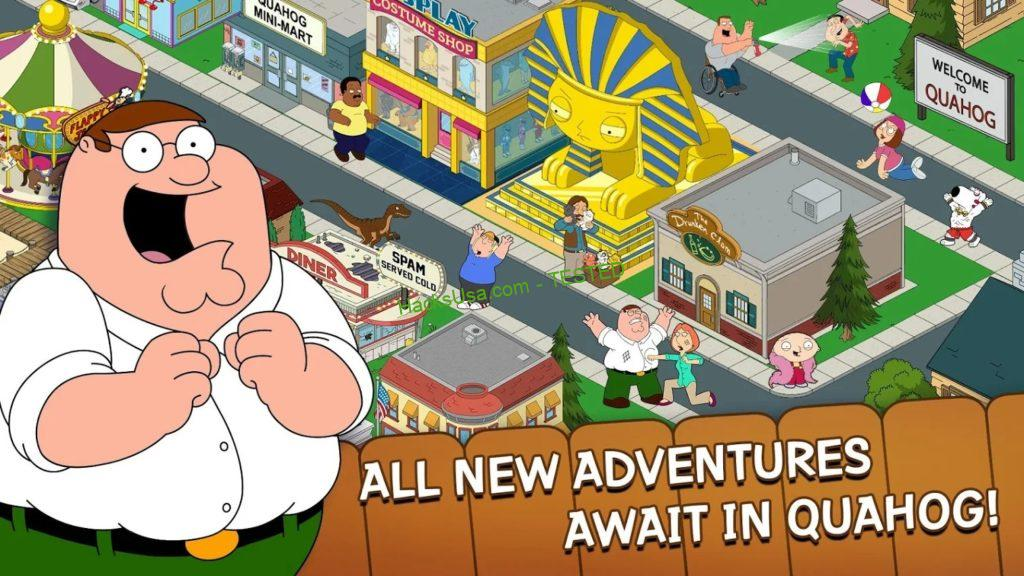 Family Guy: The Quest for Stuff MOD APK 3