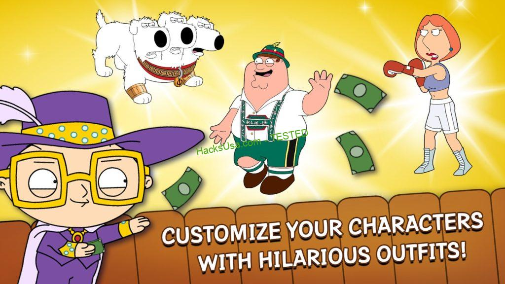 Family Guy: The Quest for Stuff MOD APK 2