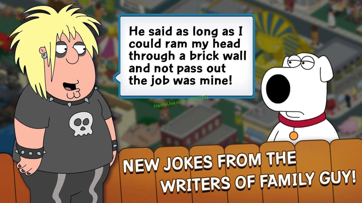 Family Guy: The Quest for Stuff MOD APK 21