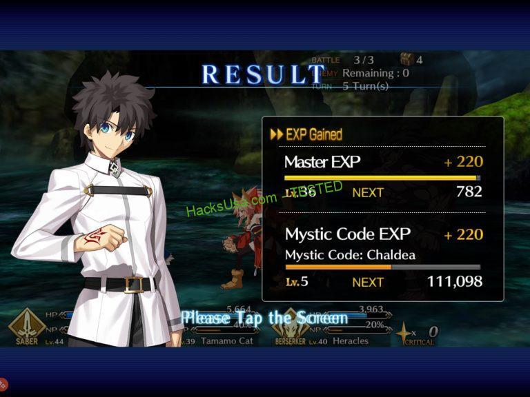 Fate/Grand Order APK MOD 4