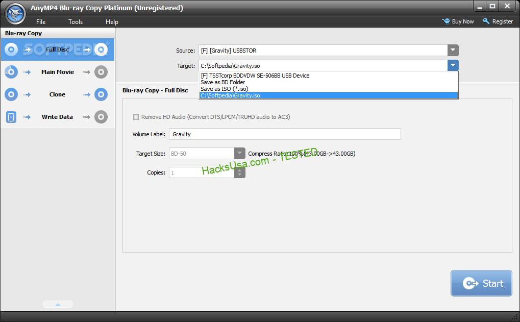 AnyMP4 Blu-ray Copy Platinum Crack Free v7.2 2