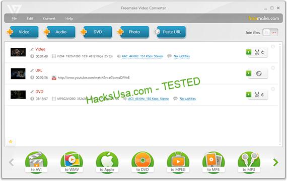 Freemake Video Converter Crack Free v.1.1 4