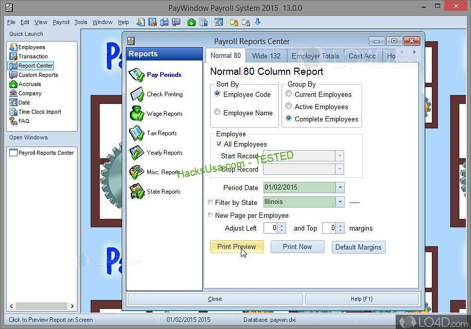 PayWindow Payroll System - LO4D.com