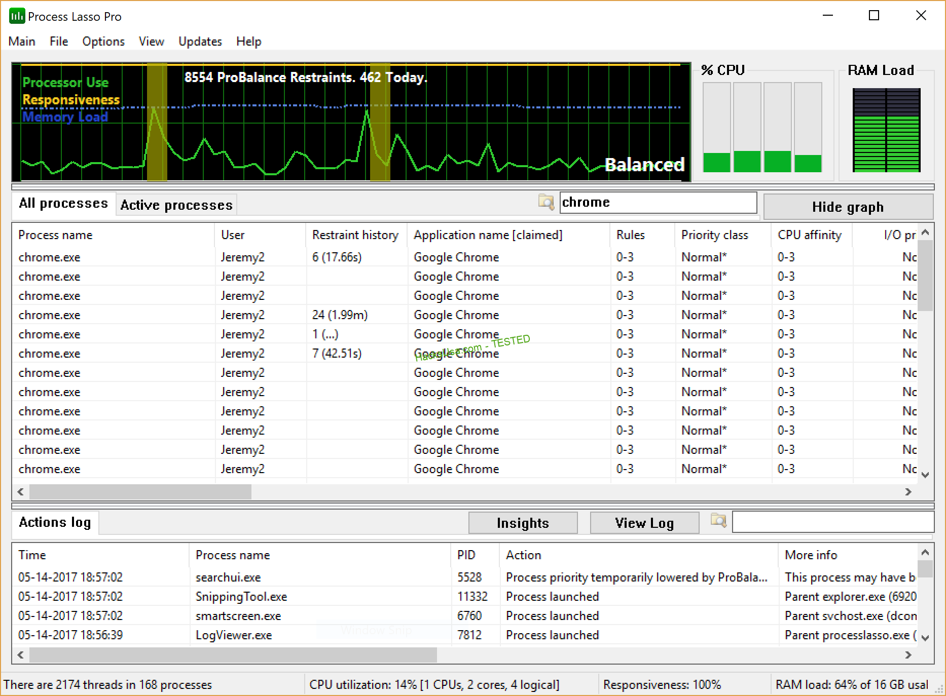 Bitsum Process Lasso Pro 9.7 With Crack