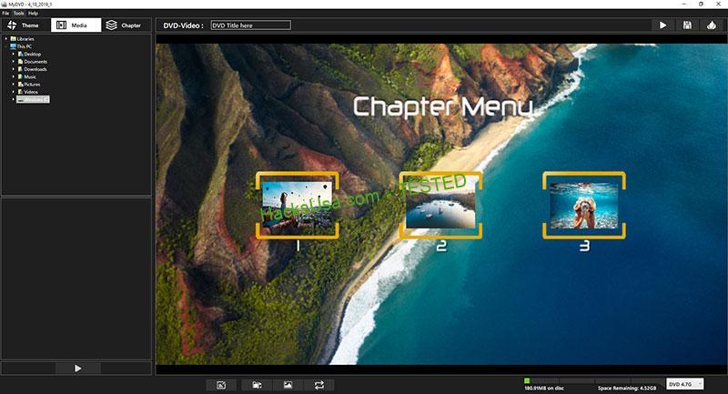 Corel VideoStudio MyDVD Crack Free v3.0