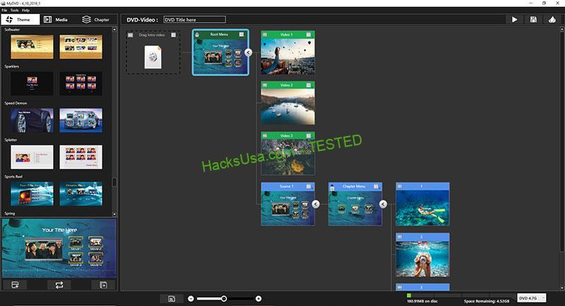 Corel VideoStudio MyDVD Crack Free v3.0 2