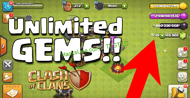 Clash of Clans Hack Gems, Gold and Elixir 2