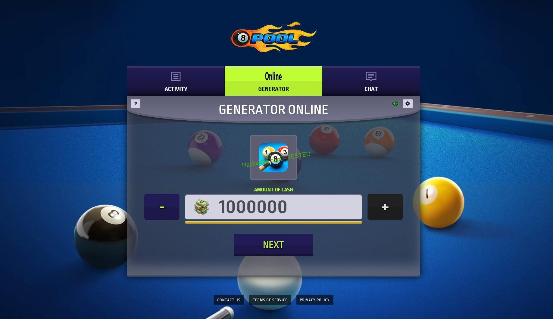 8 Ball Pool Hack Free Coins and Credits