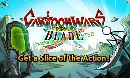 Cartoon Wars: Blade Hack - patch and cheats for Money and other stuff on Anroid and iOS Cartoon Wars: Blade Hack is the continuation of the unique game, which has an awesome ranking not accessible for your smartphone. You might be a warrior, within the type of a wand, that is already intriguing. Your alternatives might be limitless, you generally is a single individual or handle a military.