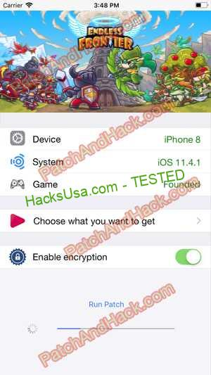 Endless Frontier Hack - patch and cheats for Gold, Crystals and other stuff on Anroid and iOS